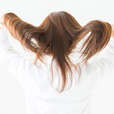放置時間によって、お好みの髪触りに